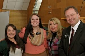 Sister Tidwell, Sister Ahrenholtz, President and Sister Kozak