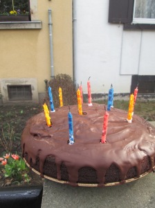 Sister Tenney's Birthday Cake